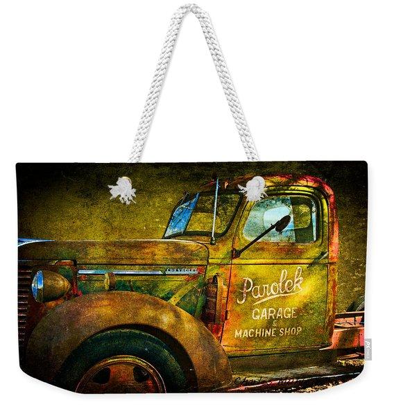 Taos Chevy II Weekender Tote Bag