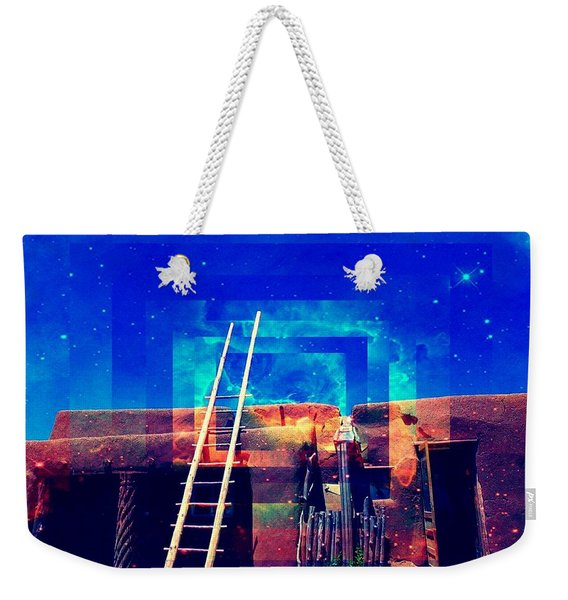Taos Dreams Come True Weekender Tote Bag