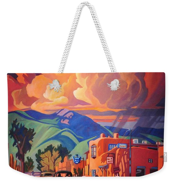 Taos Inn Monsoon Weekender Tote Bag