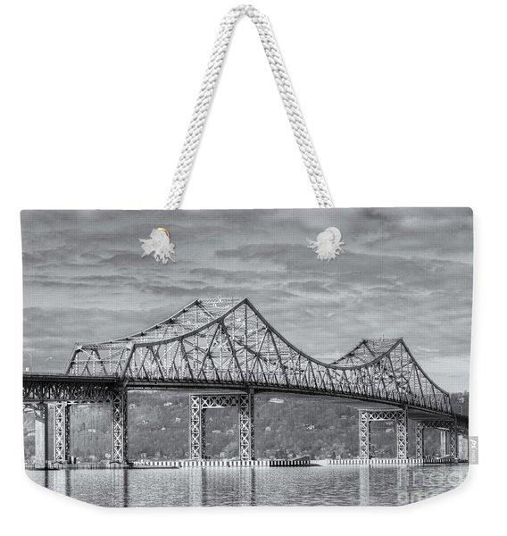 Tappan Zee Bridge Iv Weekender Tote Bag