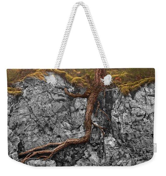 Taproot Weekender Tote Bag