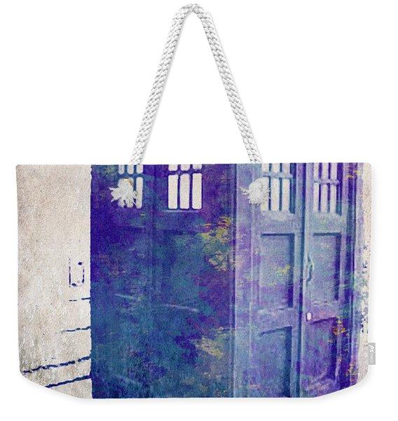 Tardis Weekender Tote Bag