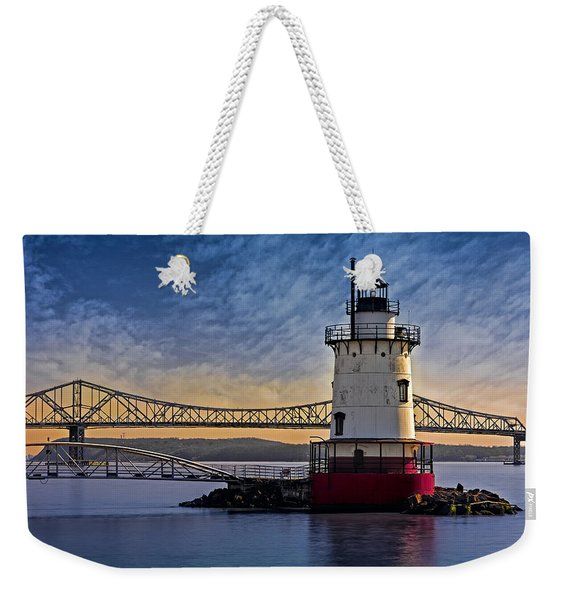 Tarrytown Light Weekender Tote Bag