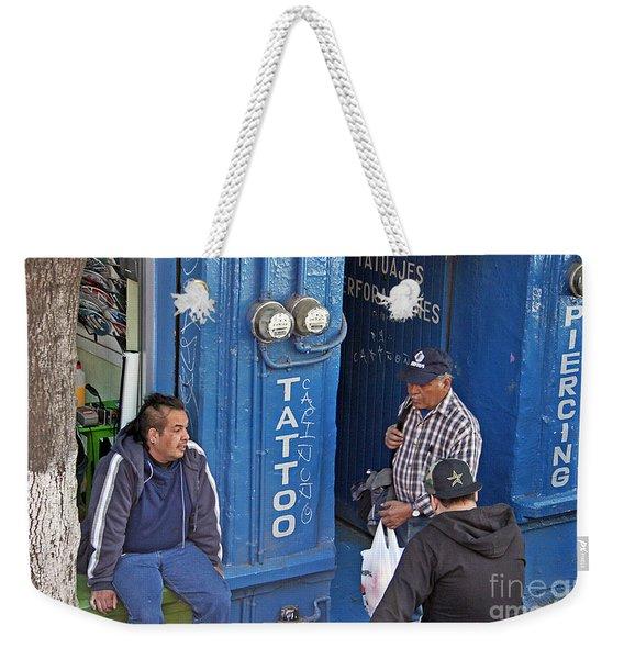 Tatoo Guys Weekender Tote Bag