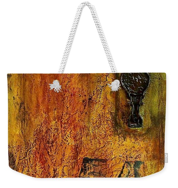 Tattered Wall  Weekender Tote Bag