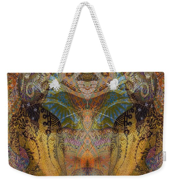 Tattoo Mask Weekender Tote Bag