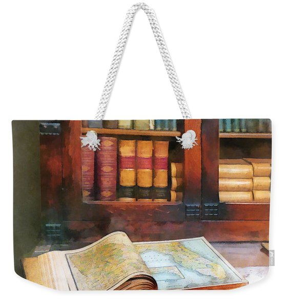Teacher - Geography Book Weekender Tote Bag