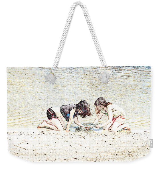Team Work Weekender Tote Bag