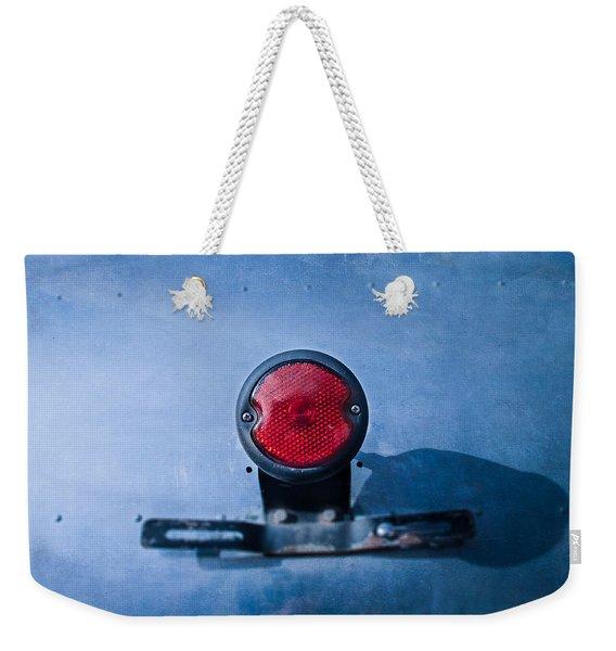 Teardrop Taillight Weekender Tote Bag