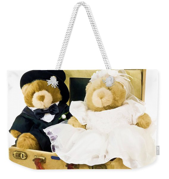 Teddy Bear Honeymoon Weekender Tote Bag
