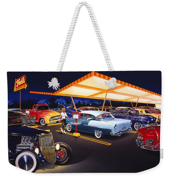 Teds Drive-in Weekender Tote Bag