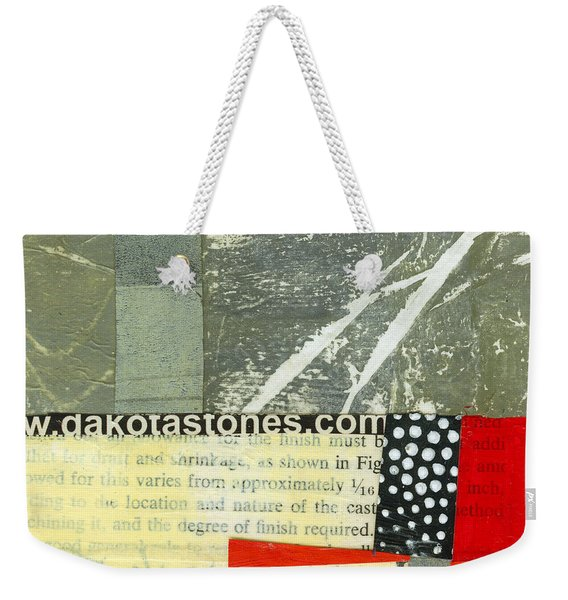 Teeny Tiny Art 119 Weekender Tote Bag