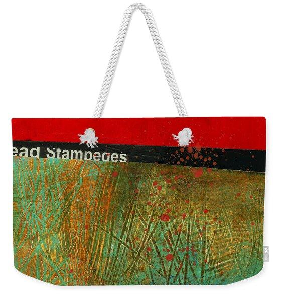 Teeny Tiny Art 123 Weekender Tote Bag