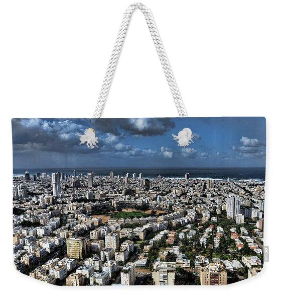 Tel Aviv Center Weekender Tote Bag
