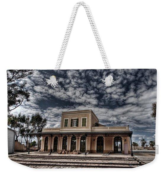 Tel Aviv First Railway Station Weekender Tote Bag