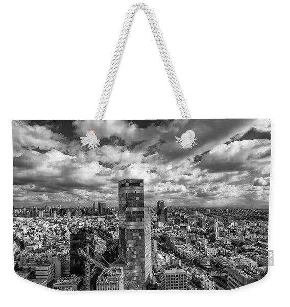 Tel Aviv High And Above Weekender Tote Bag