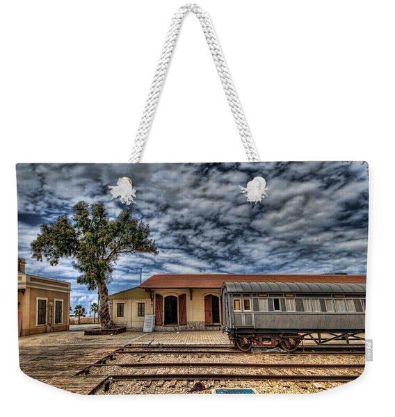 Tel Aviv Old Railway Station Weekender Tote Bag