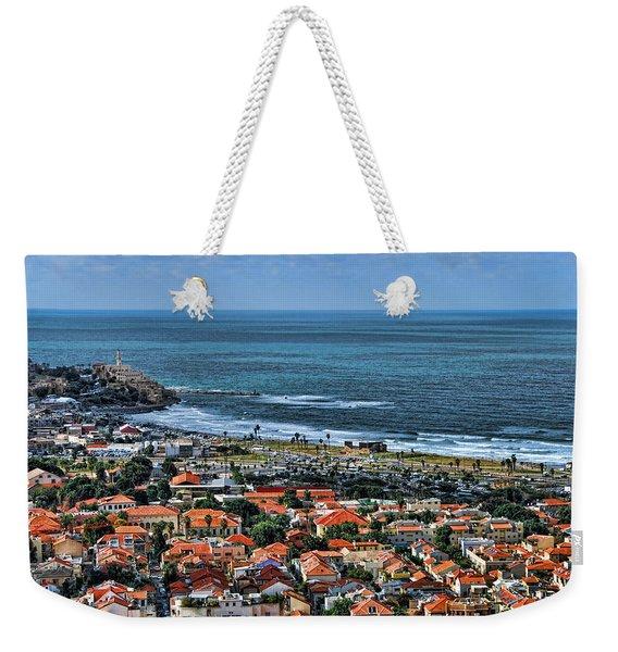 Tel Aviv Spring Time Weekender Tote Bag