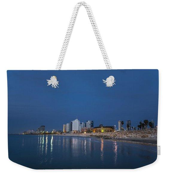 Tel Aviv The Blue Hour Weekender Tote Bag