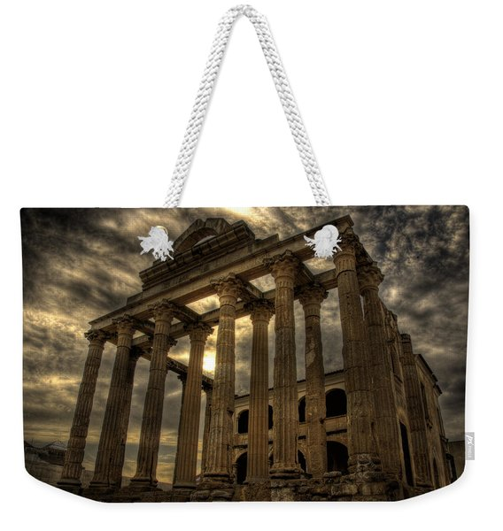 Temple Of Diana Weekender Tote Bag