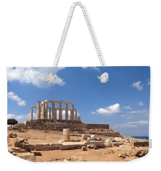 Temple Of Poseidon Weekender Tote Bag