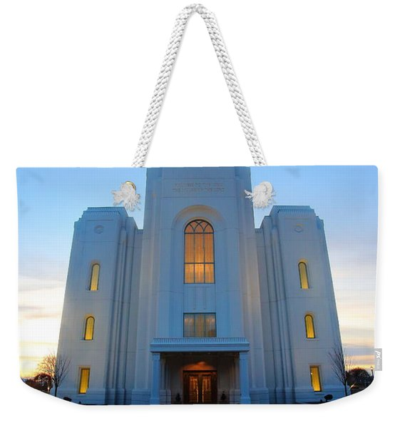 Temple Work Weekender Tote Bag