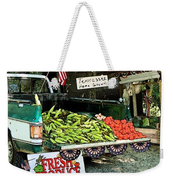 Tennessee Homegrown Weekender Tote Bag