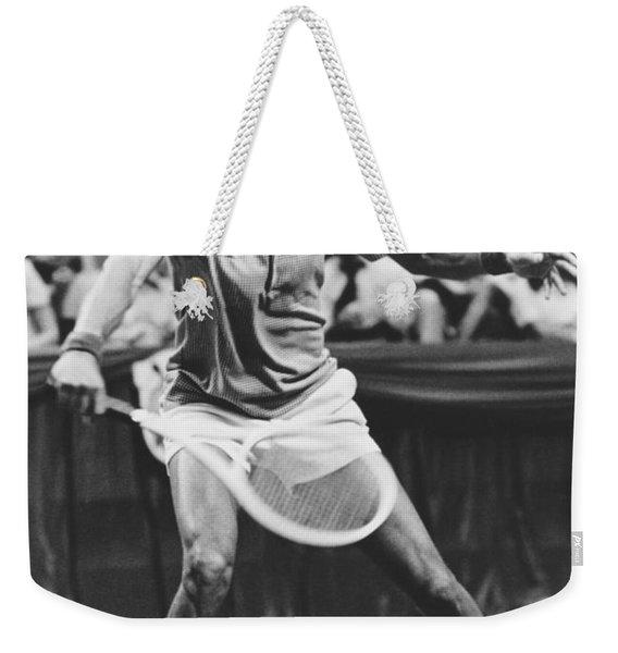 Tennis Champion Arthur Ashe Weekender Tote Bag