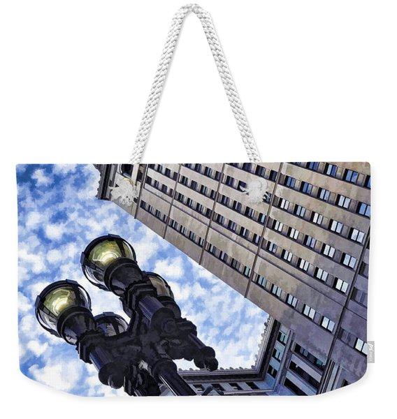 Terminal Tower - Cleveland Ohio - 1 Weekender Tote Bag