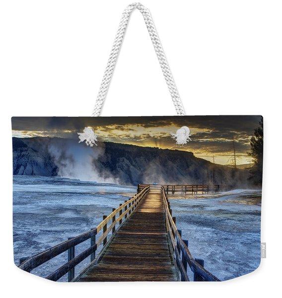Terrace Boardwalk Weekender Tote Bag