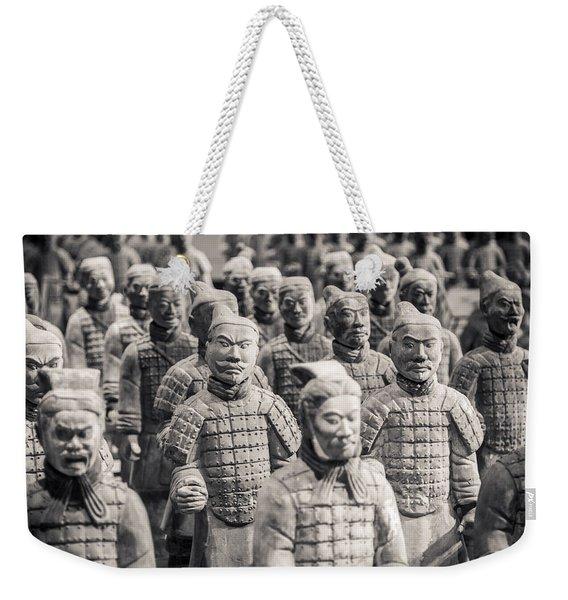Terracotta Army Weekender Tote Bag
