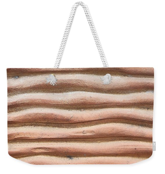 Terracotta Background Weekender Tote Bag