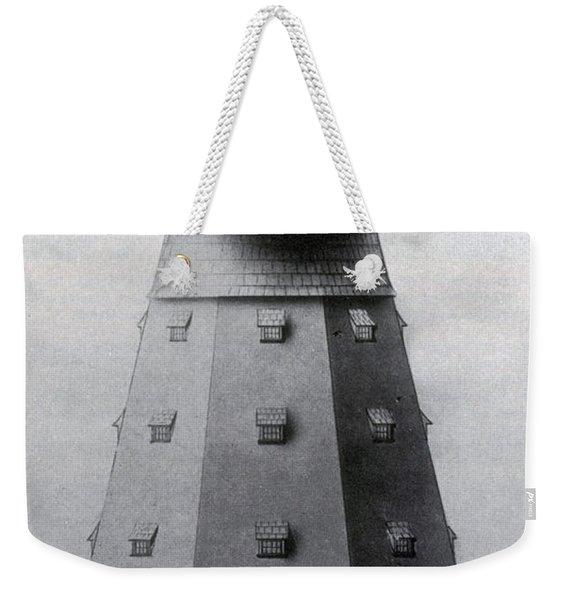 Tesla Tower For Wireless Transmission Weekender Tote Bag