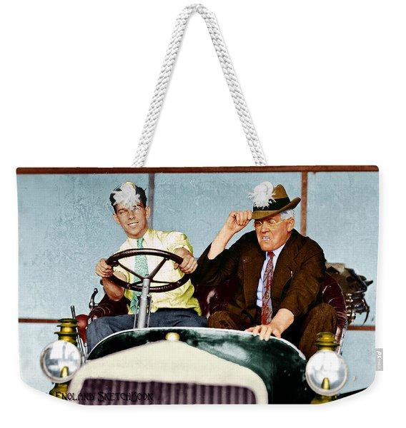 Test Drive Weekender Tote Bag