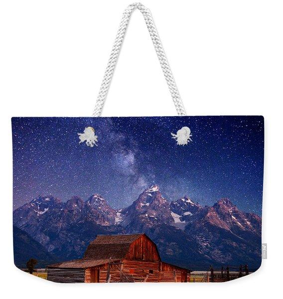 Teton Nights Weekender Tote Bag