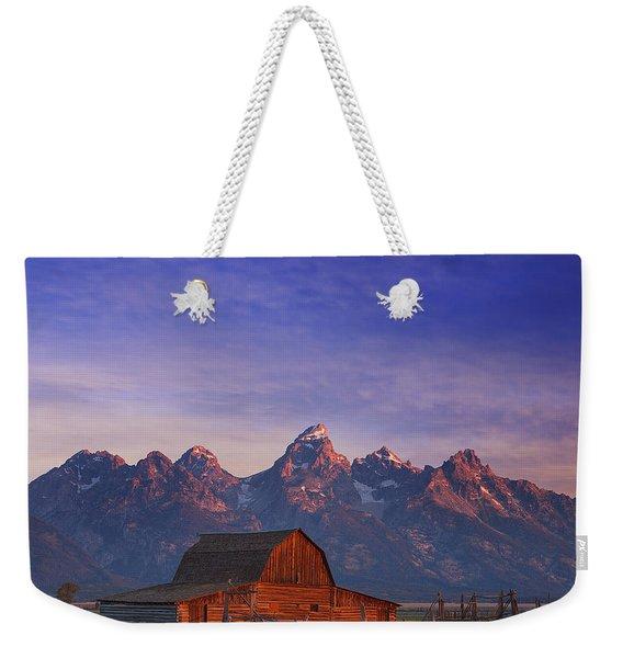 Teton Sunrise Weekender Tote Bag