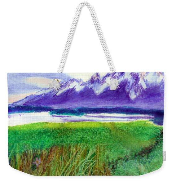 Teton View Weekender Tote Bag