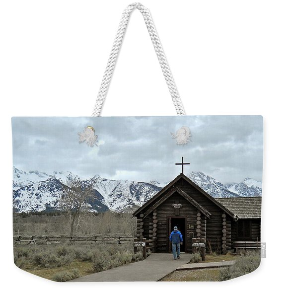 Tetons Chapel Of The Transfiguration Weekender Tote Bag