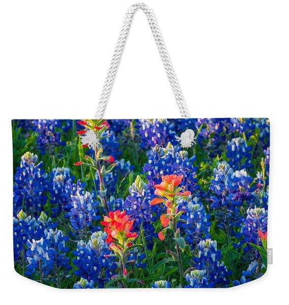 Texas Colors Weekender Tote Bag
