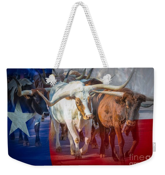 Texas Longhorns Weekender Tote Bag