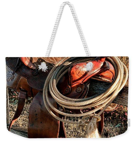 Texas Morning Weekender Tote Bag