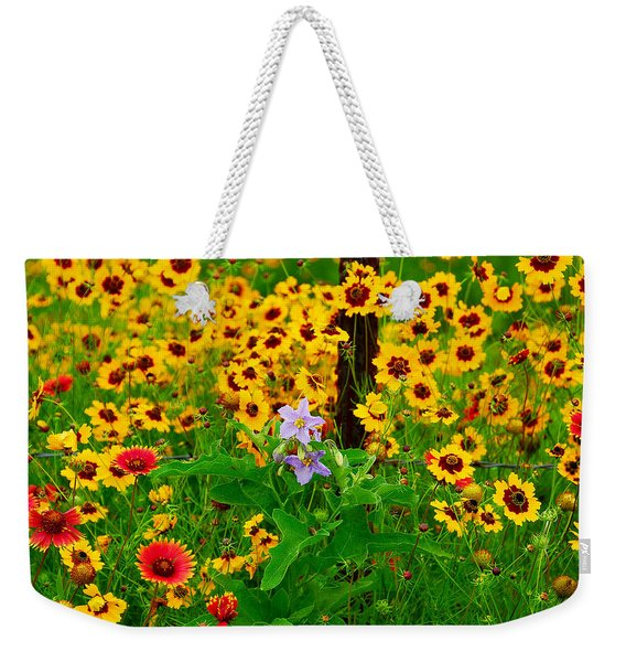 Texas Spring Delight Weekender Tote Bag