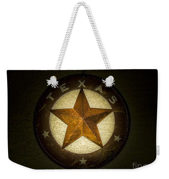 Texas Star Weekender Tote Bag