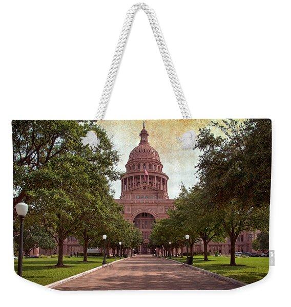Texas State Capitol IIi Weekender Tote Bag