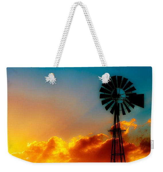 Texas Sunrise Weekender Tote Bag