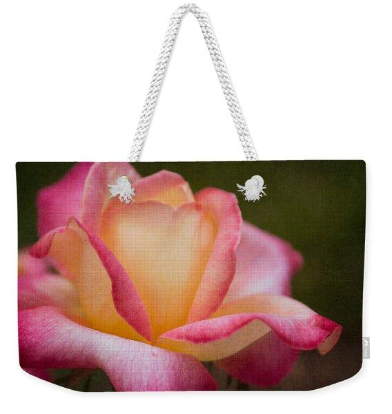 Textured Star Weekender Tote Bag