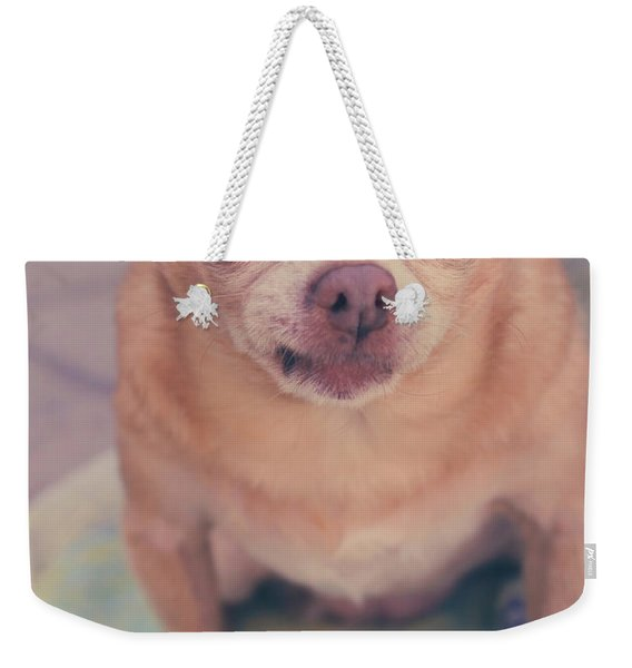 That Little Face Weekender Tote Bag