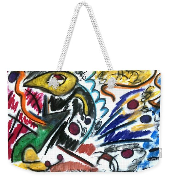 That Which Remains Unseen Weekender Tote Bag