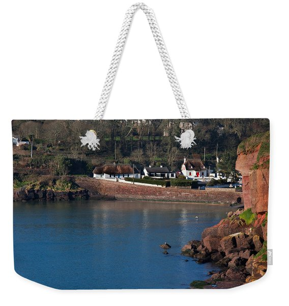 Thatched Cottages, Dunmore Strand Weekender Tote Bag
