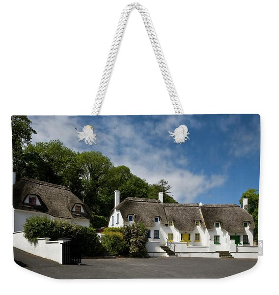 Thatched Cottages Near Dunmore Weekender Tote Bag